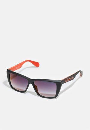 UNISEX - Sunglasses - matte black/smoke mirror