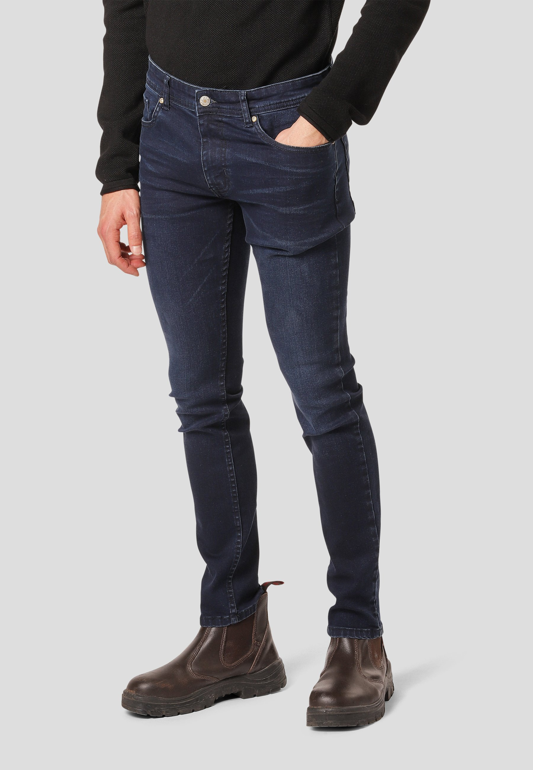Uomo BRICE  - Jeans slim fit
