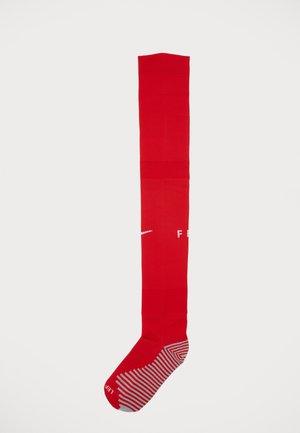 FRANKREICH - Knee high socks - university red/white/white