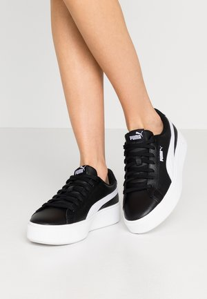 VIKKY STACKED - Sneakers - black/white