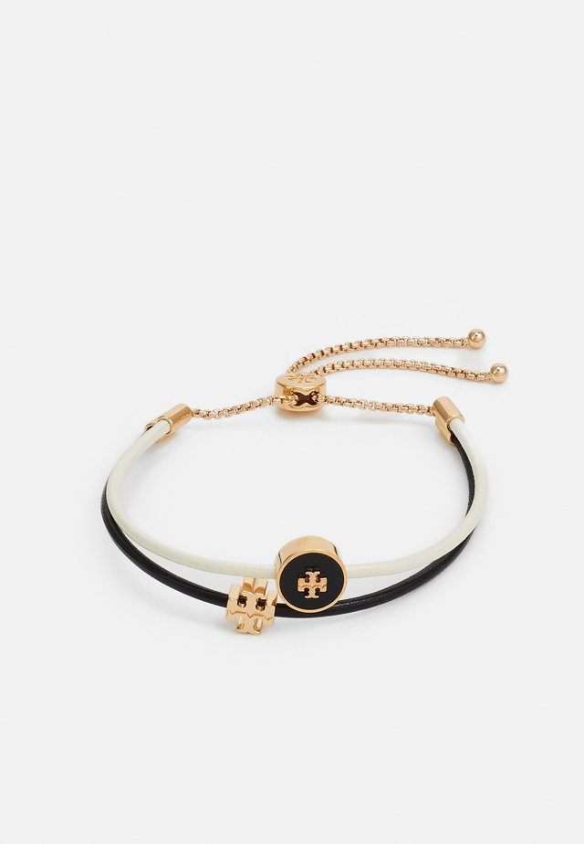 KIRA SLIDER BRACELET - Bracelet - gold-coloured/black/new ivory