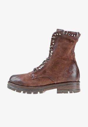 Cowboy/biker ankle boot - fondente