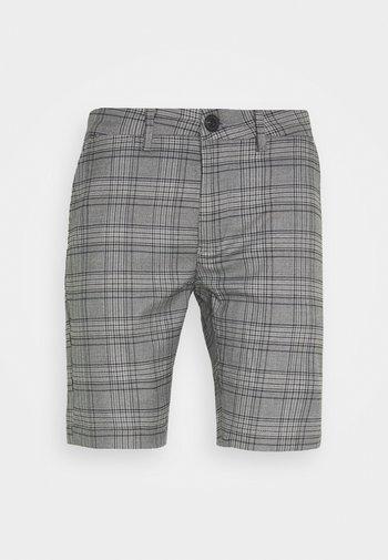 JASON BIG CHECK - Shorts - grey