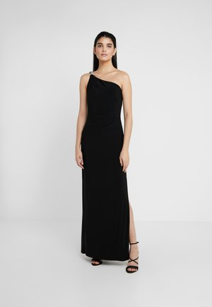 CLASSIC LONG GOWN - Jersey dress - black