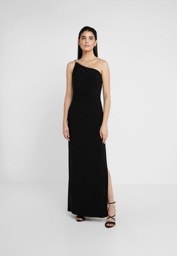 CLASSIC LONG GOWN - Sukienka z dżerseju - black