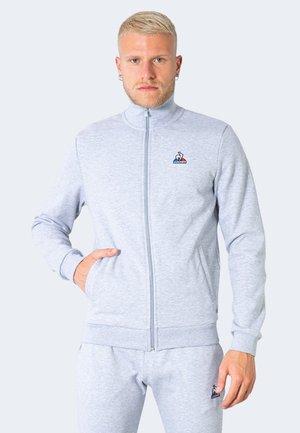 ESSENTIELS - Sweater met rits - light grey