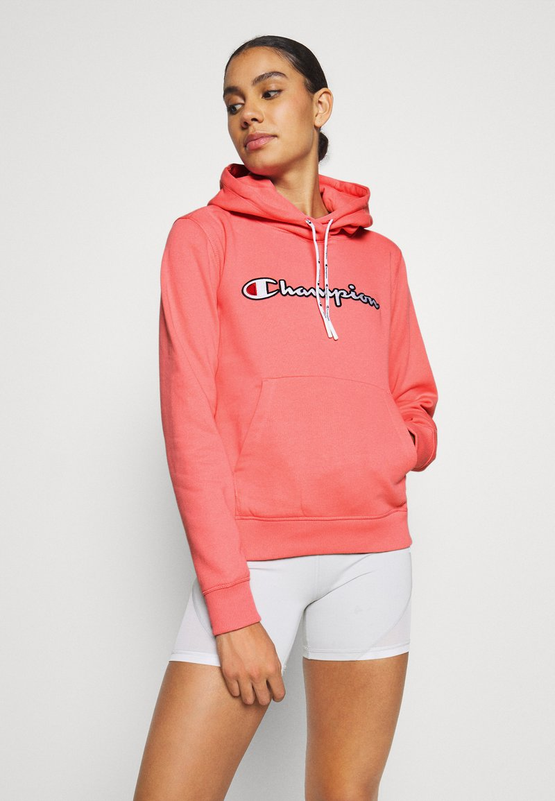 Champion - HOODED ROCHESTER - Jersey con capucha - pink
