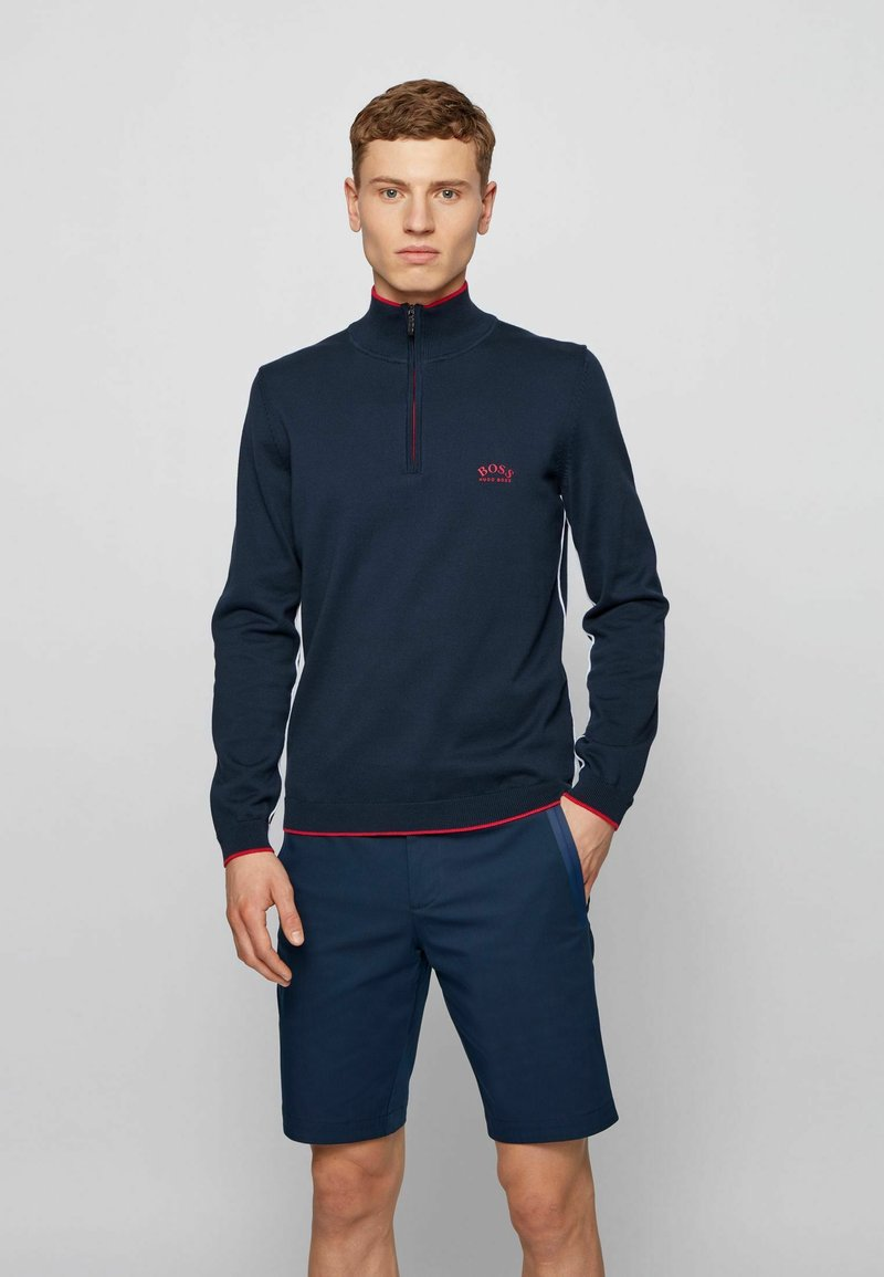 BOSS - ZISTON - Sweatshirt - dark blue