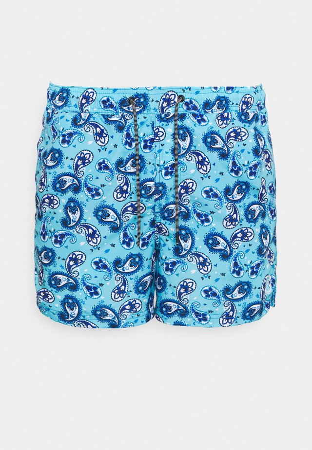 JJIBALI JJSWIM MIXED - Szorty kąpielowe - palace blue