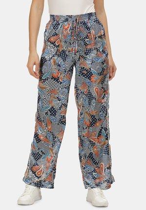 Trousers - marine orange