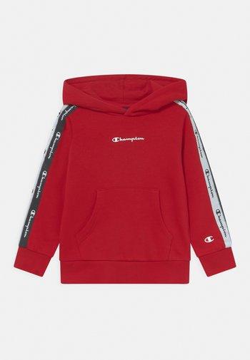 AMERICAN TAPE HOODED UNISEX - Sweatshirt - red