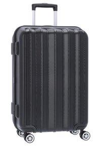 Stratic - PILLAR - Wheeled suitcase - black - 2