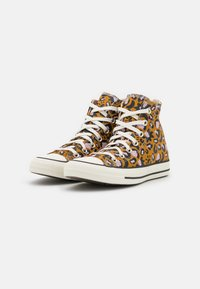 Converse - CHUCK TAYLOR ALL STAR - High-top trainers - wheat/black/pink - 2