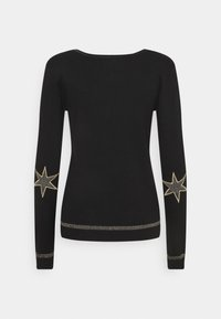 Culture - ANNEMARIE STAR CARDIGAN - Cardigan - black - 1