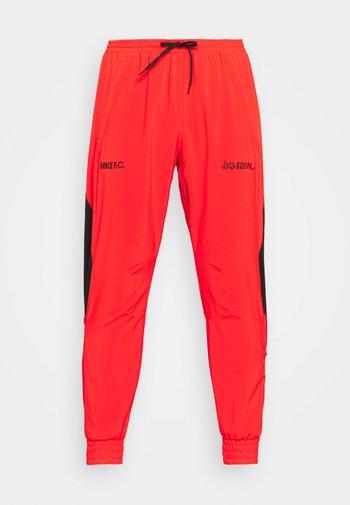 FC PANT - Pantaloni sportivi - chile red/black