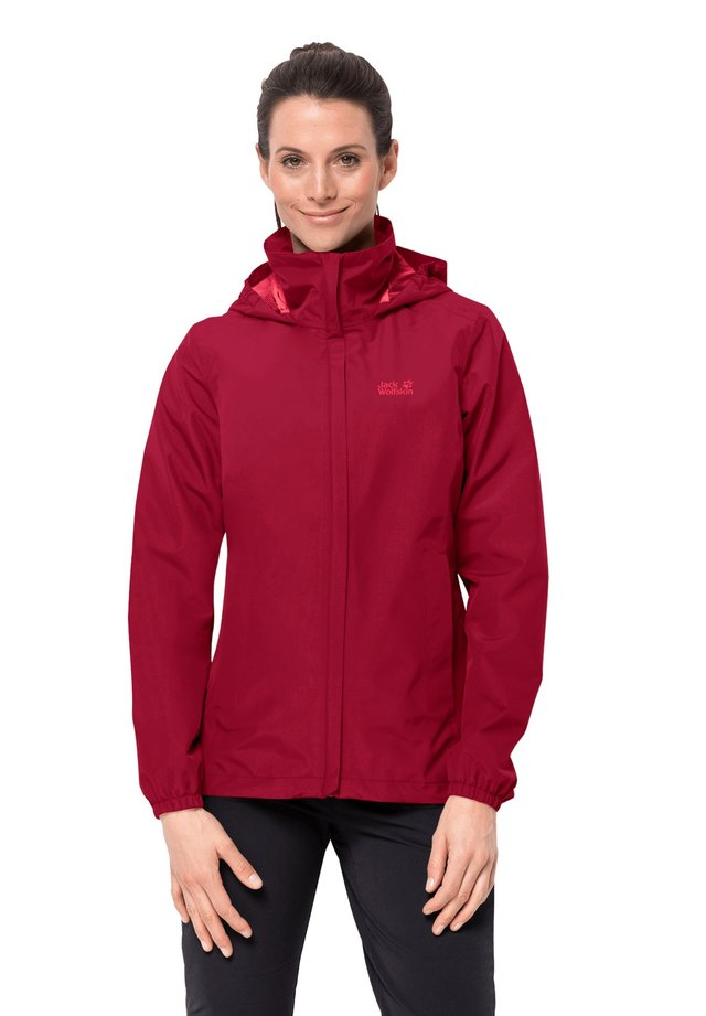 Hardshell jacket - scarlet