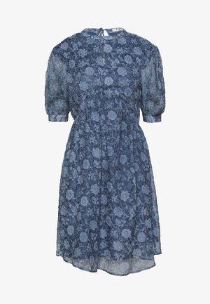 OPEN BACK DRESS - Sukienka koktajlowa - stone blue