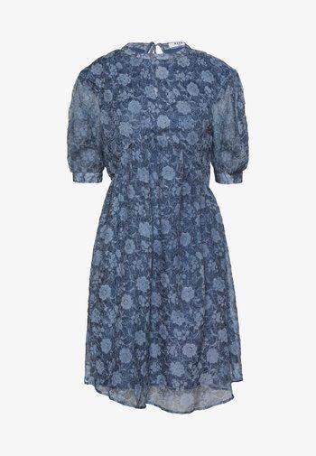 OPEN BACK DRESS - Cocktailkjole - stone blue