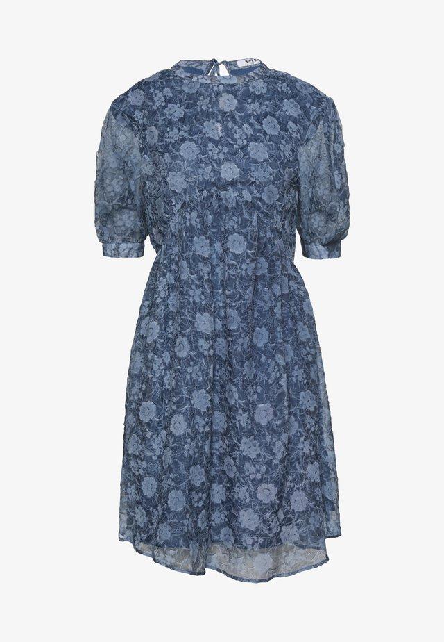 OPEN BACK DRESS - Juhlamekko - stone blue