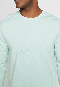 Puma - HOOPS BOUNCE TEE - Long sleeved top - mist green - 5