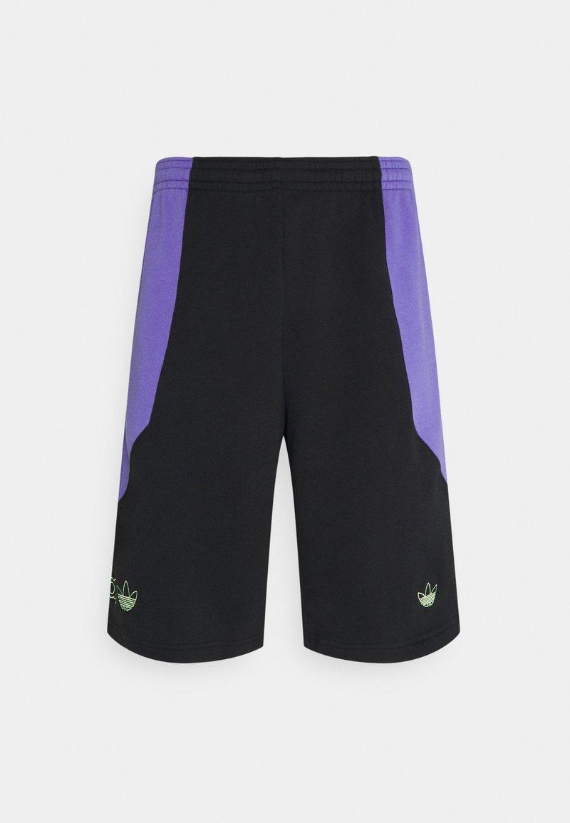 adidas Originals - UNISEX - Shorts - black/purple