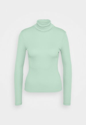 PCBIRDIE HIGH NECK - Long sleeved top - jadeite
