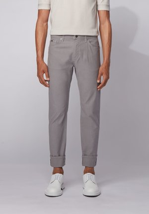 MAINE - Stoffhose - open grey