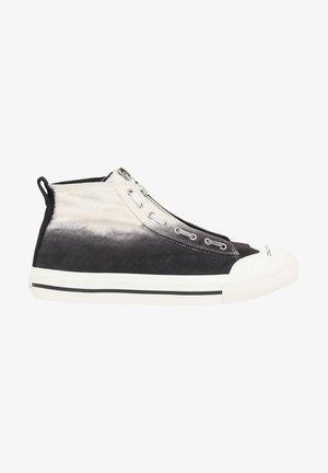 Sneakers hoog - white/black