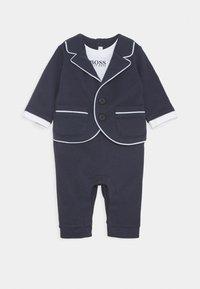 BOSS Kidswear - ALL IN ONE BABY - Tuta jumpsuit - navy - 0