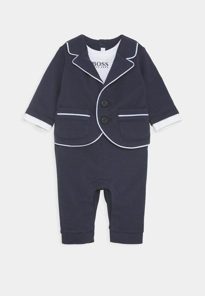BOSS Kidswear - ALL IN ONE BABY - Tuta jumpsuit - navy