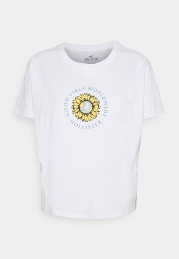 GRAPHIC EARTH DAY TEE - T-shirts med print - white