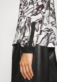 Marc Cain - Button-down blouse - white/black - 5
