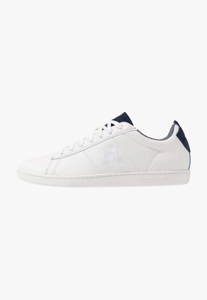 le coq sportif - COURTCLASSIC - Sneakers - optical white/dress blue