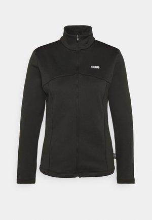 LADIES - Fleece jacket - black