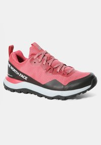 The North Face - W ACTIVIST FUTURELIGHT - Hiking shoes - holly berry/blush - 4