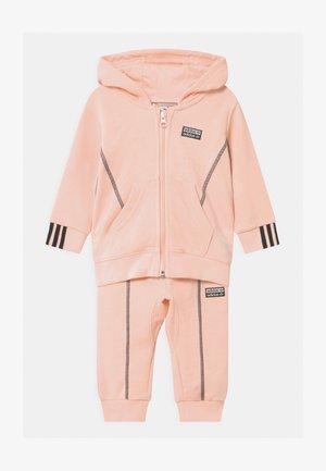 HOODIE SET UNISEX - Survêtement - pink