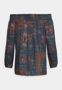 Desigual - KALIMA - Long sleeved top - blue - 7