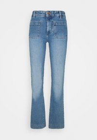Wrangler - Flared jeans - dusty mid - 4