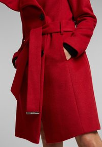 Esprit Collection - Classic coat - dark red - 3