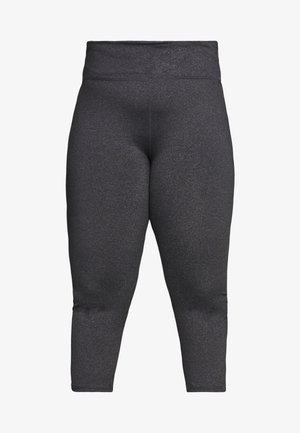 CURVE ACTIVE HIGHWAIST CORE - Legginsy - charcoal marle