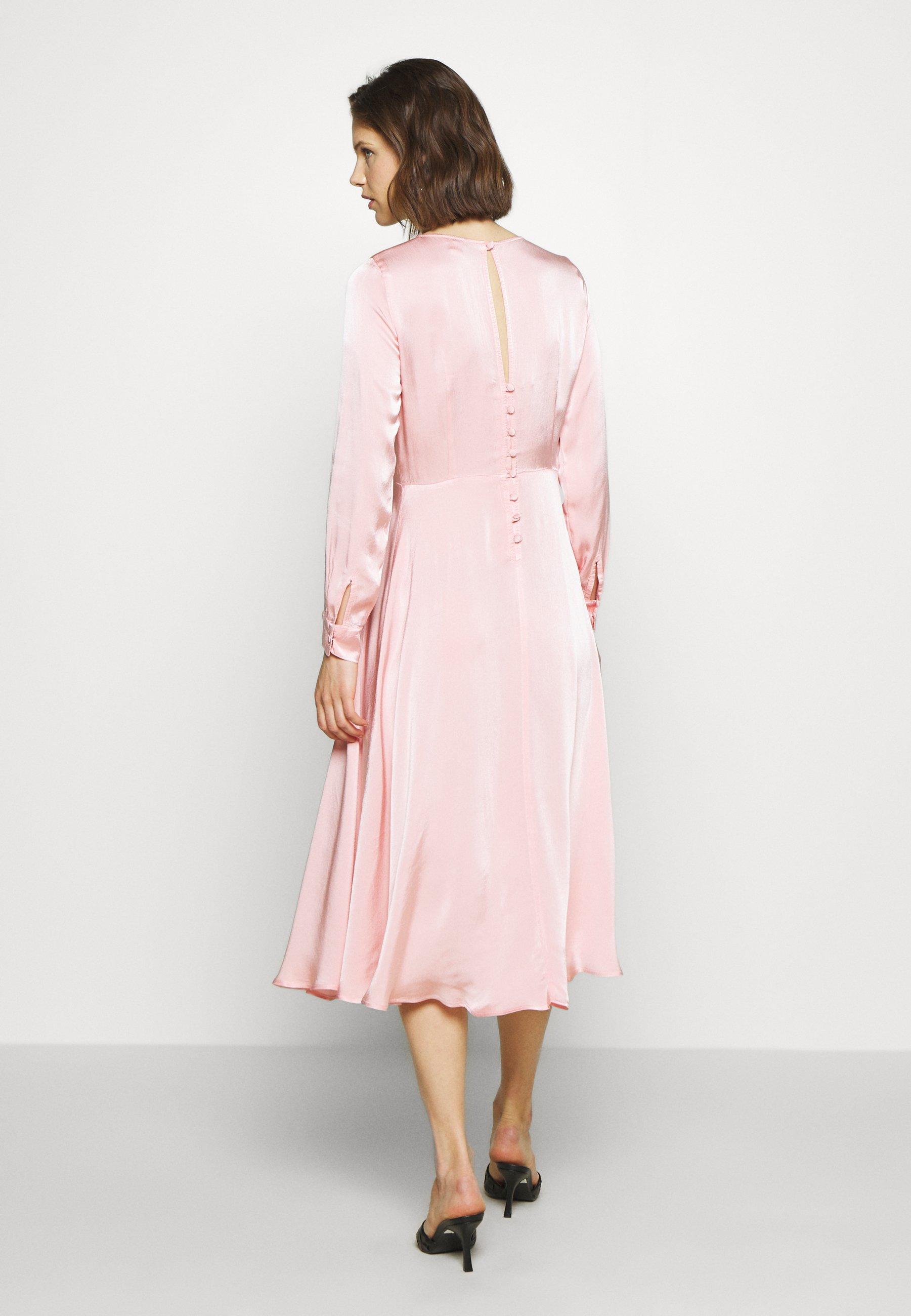 Ghost MINDY DRESS - Cocktailkjole - pink