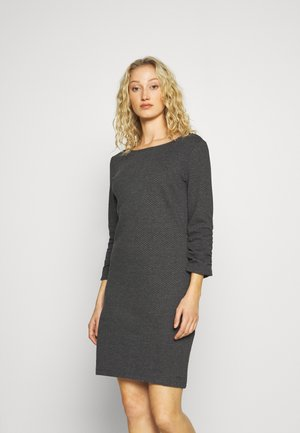 DRESS - Jumper dress - shale grey melange