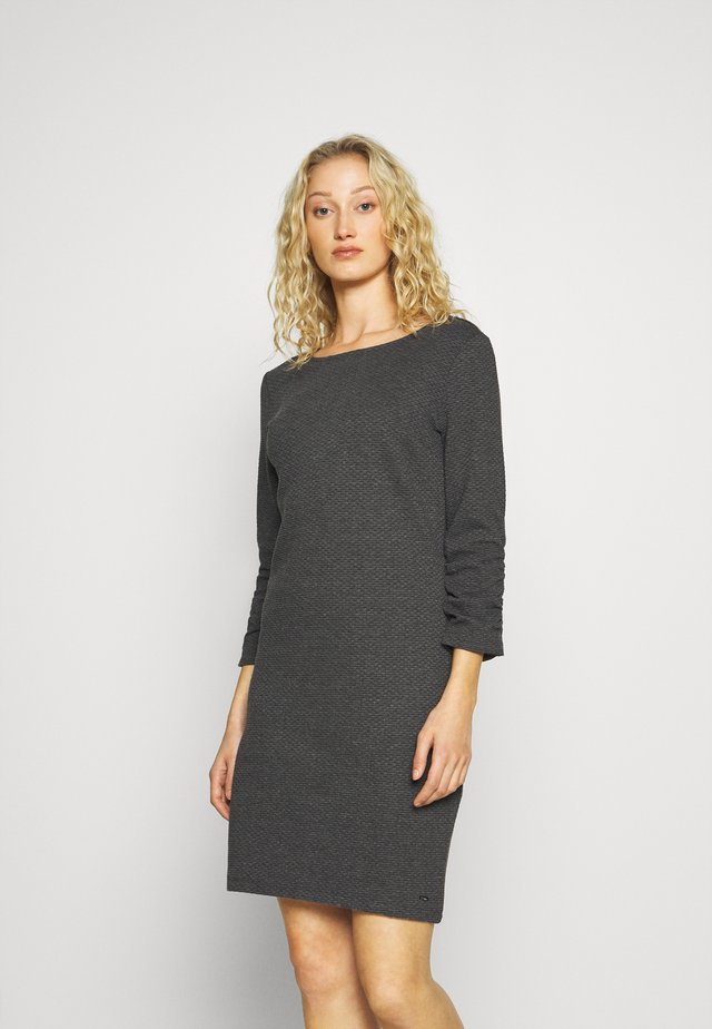DRESS - Strickkleid - shale grey melange