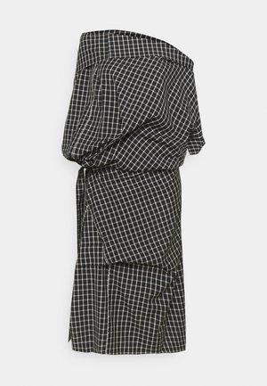 CLIFF OVERSIZE DRESS - Koktejlové šaty/ šaty na párty - black