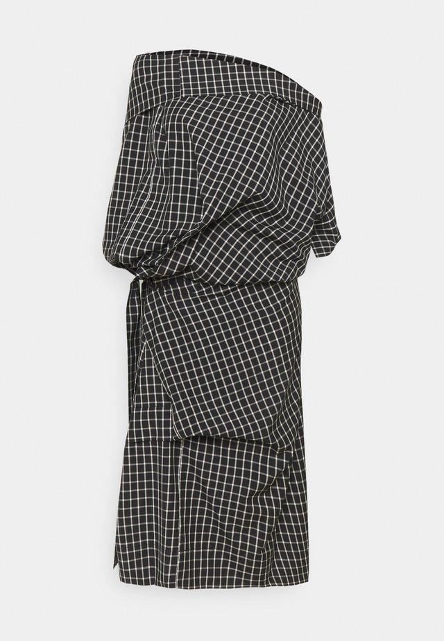 CLIFF OVERSIZE DRESS - Robe de soirée - black