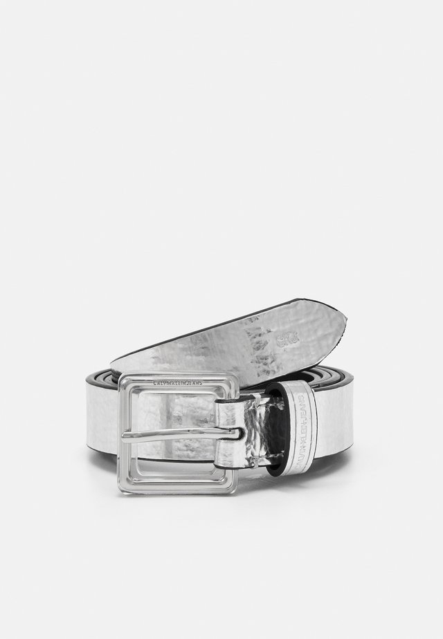 SQUARE - Belt - silver