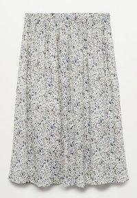 Mango - SANDRA - A-line skirt - gris glacé - 1