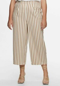 ONLY Carmakoma - Trousers - almondine - 0