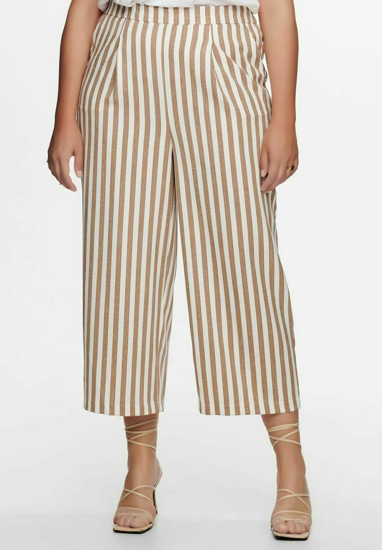 ONLY Carmakoma - Trousers - almondine