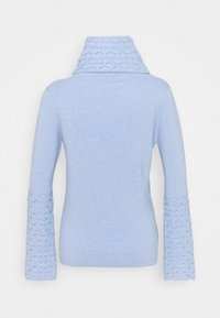 Temperley London - HONEYCOMB JUMPER - Svetr - powder blue - 7